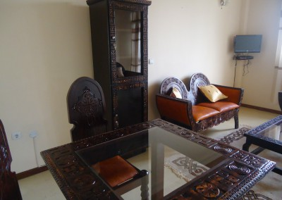 Ekko Apartments and Guest House Addis Ababa One Bedroom Dinning Area