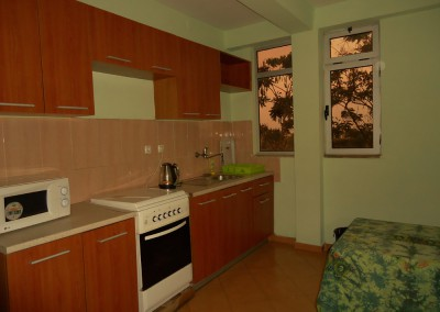 Ekko Apartments and Guest House Addis Ababa One Bedroom Kitchen