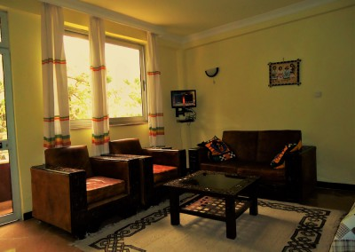 Ekko Apartments and Guest House Addis Ababa Studio Room Sitting Area